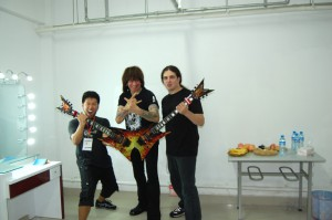 2010 Michael Angelo Batio in Shanghai